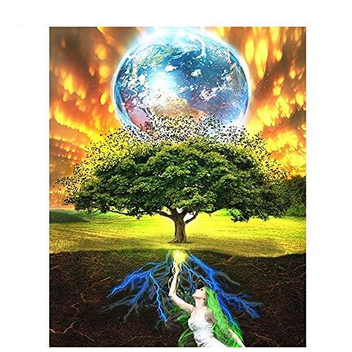 YGYGYG Rompecabezas de 2000 Piezas para Adultos árbol de la Vida Tiempo Libre Decoración del hogar Arte Creativo 105 * 75 cm