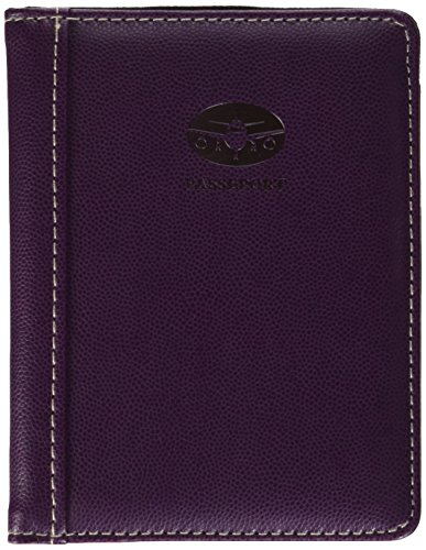 Pierre Belvedere Executive Passport Holder, Plum (370990)