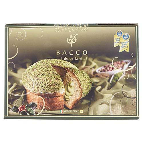 Bacco Panbacco Dolce Natalizio con Crema al Pistacchio, 900g