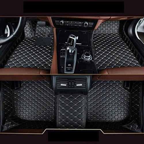 Gullivery para Range Rover 2007-2012 5 Seats No Lengthen - Alfombrillas para Coche A Medida - Antideslizantes Impermeable Protección Delantero+Trasera,Negro