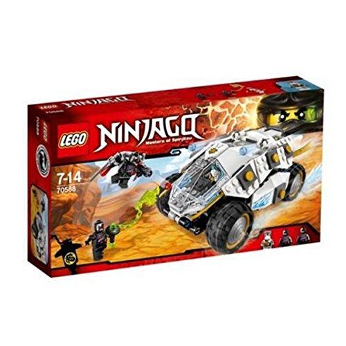 2016 LEGO Ninjago Titanium Ninja Tumbler 70588 by LEGO