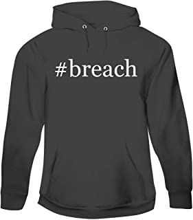 #Breach - Men's Hashtag Pullover Hoodie Sweatshirt