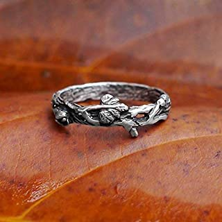 twig branch engagement ring
