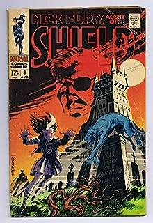 Nick Fury Agent of SHIELD #3 ORIGINAL Vintage 1968 Marvel Comics Jim Steranko