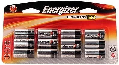 Energizer 123 Lithium 12 Pack