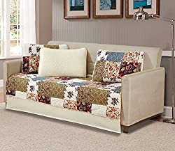 MK Home 5 Piece Daybed Bedspread