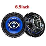 SPEAKFRIENDS Coaxial Car Speakers 6.5 - Full Range 6.5 inch Replacement Speaker for Car Front Door- RMS 60 Watts - Loud and Clear [1 Pair]