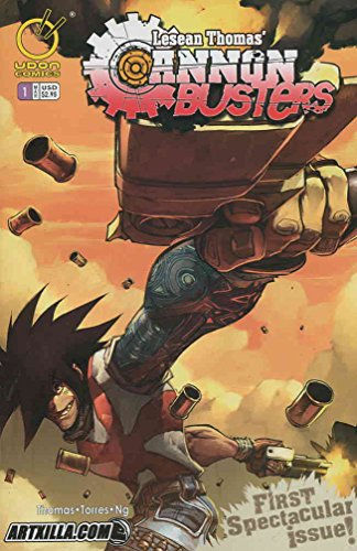 Cannon Busters #1B VF ; Devil's Due comic book