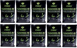 Utkarsh Huminoz-98 (900 GM) (Humic Acid 98% for Plant) (Set of 10)