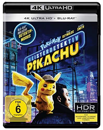 Pokémon Meisterdetektiv Pikachu (4K Ultra HD + Blu-ray)