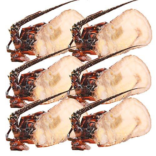 伊勢海老半身 中サイズ6個 鮮度の良い三重県産伊勢海老を瞬間凍結 調理しやすいよう半分にカット 海鮮 バーベキュー BBQ テルミドール イセエビ いせえび