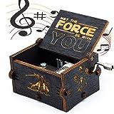 Puro mano clásico ' Star Wars 'caja de música caja de música de madera a mano artesanías de madera creativa Mejores regalos