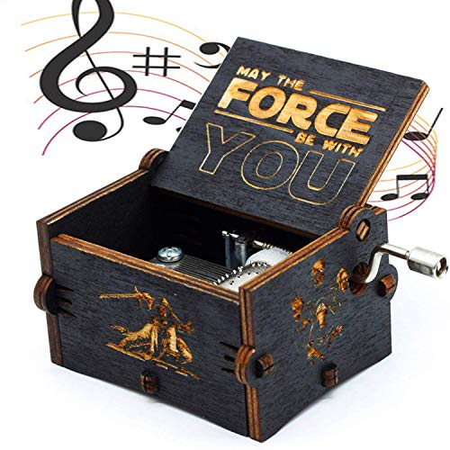 Reine Hand-Klassische Star Wars Spieluhr, Hand-hölzerne Spieluhr kreative Holz Handwerk