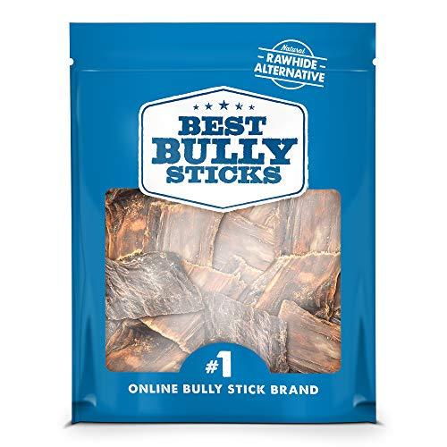 Best Bully Sticks Joint Jerky Gullet Bite Dog Treats (1.5lb. Bag) - All-Natural Beef Dog Treats