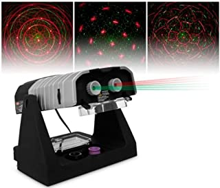 Laser Twilight Theater Birthday Party Music Lights Star Hologram Projector DJ Lights Show Karaoke Machine, 39 Different Laser Show Combinations Possible, Better Performance Then Other BRANDS