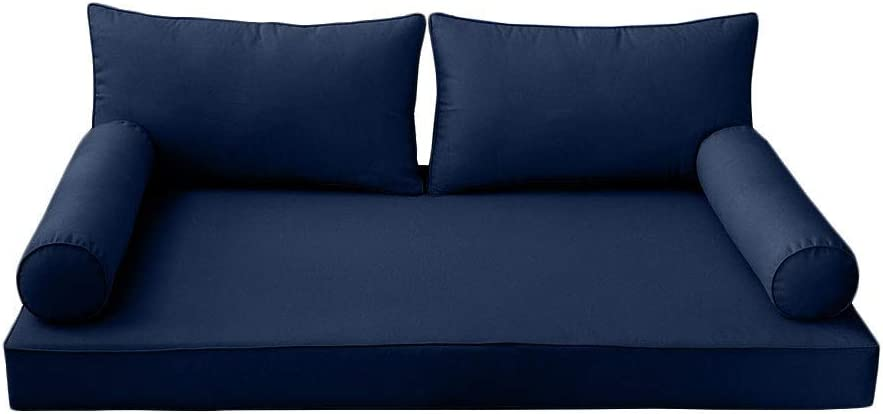 DBM IMPORTS safety Style2 5PC Pipe Daybed Matress Fitted Pillow Bolster Max 61% OFF