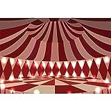 Cassisy 2,2x1,5m Vinilo Circo Telon de Fond Decoración de Interiores Espectáculo de Carpas de...