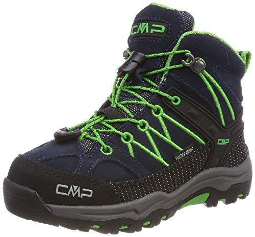 CMP Rigel Mid Wp Unisex-Kinder Trekking-& Wanderschuhe, Blau (B.Blue-Gecko), 37 EU