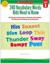 240 Vocabulary Words Kids Need to Know, Grade 1 : 24 Ready-To-Reproduce Packets That Make Vocabulary Building Fun & Effective(Paperback) - 2013 Edition