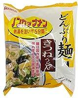 ムソー どんぶり麺・きつねうどん 77.3g×4袋