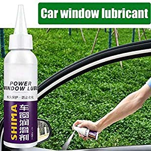 Cutito Car Window Lubricant  Channel Dresser Lubricant Cleanser  Eliminate Noise Cleaner  100ml