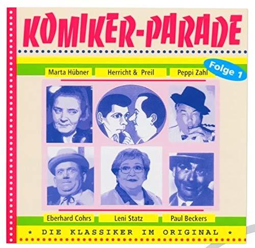 CD Komiker Parade I - Ossi Produkte - für Ostalgiker - DDR Geschenke