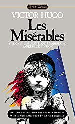 Les Miserables by Victor Hugo in books set in France