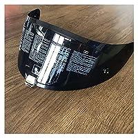 For Rpha 11&Rpha 70 VenomのオートバイのヘルメットレンズのオートバイのヘルメットバイザーHJ26安定カスコス・ウィンドシールドオートバイアクセサリー オートバイのバイザーシールド (色 : Light Smoke)