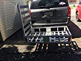 Haul Master 500 lb. Capacity Hitch Mount Aluminum Mobility Wheelchair & Scooter Carrier Ramp