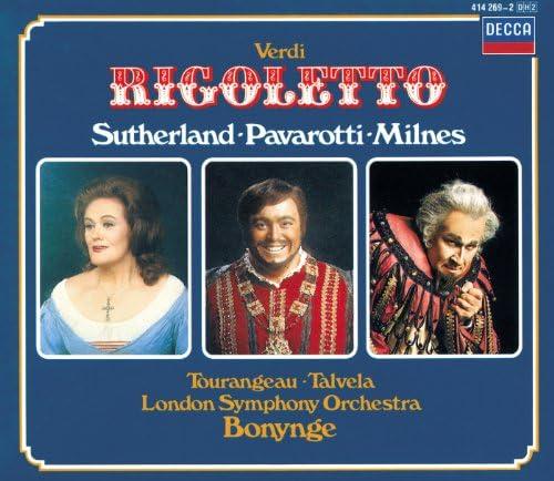 Dame Joan Sutherland, Sherrill Milnes, Luciano Pavarotti, London Symphony Orchestra, Richard Bonynge & Giuseppe Verdi