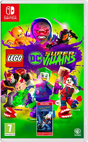 Lego DC Super-Villains - Amazon.co.UK DLC Exclusive - Nintendo Switch [Edizione: Regno Unito]