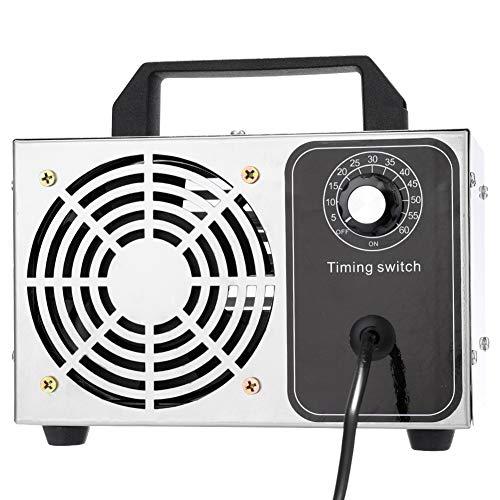 YLEI Purificador de Aire ozonizador, 24g/h Interruptor de Tiempo Generador de ozono Máquina de desinfección 220V para desinfección y esterilización en el hogar, Lugar público