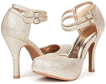 quinceanera heels gold