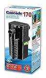PENN PLAX (CIF4) Cascade 170 Submersible Aquarium Filter Cleans Up to 10 Gallon Fish Tank or...