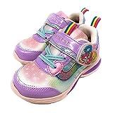 (B倉庫)ヒーリングっど プリキュア 4210 子供靴 スニーカー フラッシュスニーカー 女の子 キッズ キャラクター シューズパープル18.0cm