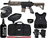 Action Village Tippmann TMC Protector Paintball Gun Package Kit Level 2 (Black/Tan, Large/X-Large)