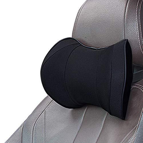 Reposacabezas Coche Pillow Memory Foam - ZATOOTO Almohada Cervical Para Coche Para Conducir, Cómodo y Transpirable, Negro