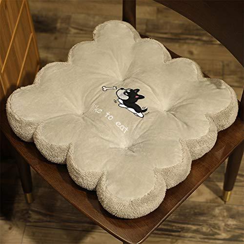 LLX 40 cm Petalo Cuscino Blu Rosa Tatami Sedile Pad Morbido Cuscino Sedia da Ufficio Addensare Cuscino del Sedile Cuscino del Sedile Auto Regali per I Bambini,E