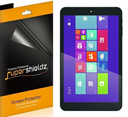 (3 Pack) Supershieldz for Digiland 8 inch Windows Tablet (DL801W, DL808W) Screen Protector, High Definition Clear Shield (PET)