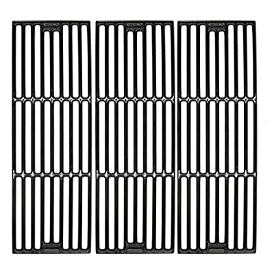 """VICOOL 19 3/4"""" Grill Grates Replacement for Chargriller 2121, 3001, 3008, 3030, 4000, 5050, 5252, 5650, Porcelain Coated Cast Iron Cooking Grid for King Griller, HyG505A"""