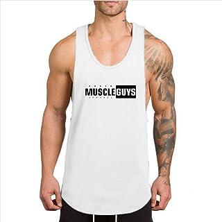 タンクトップ メンズ トレーニング スポーツウェア ノースリーブタイプ ジム用 綿 快適 フィットネス ランニング