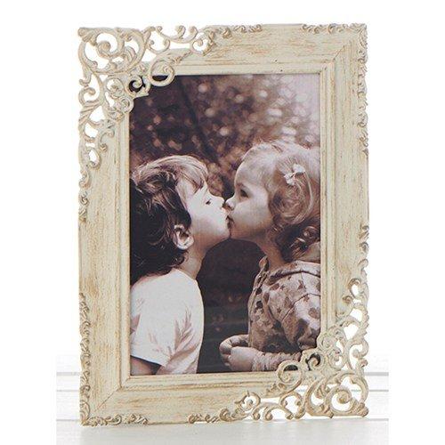 Shudehill Gifts - Marco de Fotos (17,7 x 12,7 cm), diseño de Encaje Envejecido,...