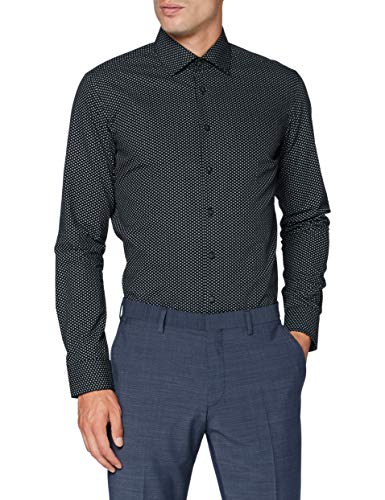 Seidensticker Herren Business Hemd - Bügelleichtes Hemd mit sehr schmalem Schnitt - X-Slim Fit - Langarm - Kent-Kragen - 100{c5f971a64dcbc6bb814057543fcac135c38a57a69008fad8ee6aaf37a9446dc2} Baumwolle