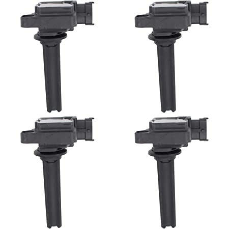 NewYall Pack of 4 Ignition Coil