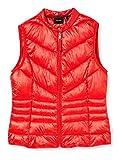 Vero Moda VMSORAYASIV Short Waistcoat Boos Chaleco Guateado, Goji Berry, M para Mujer