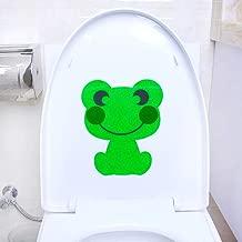 SHIFTALT Cartoon Lovely Animal Toilet Stickers Creative Cute Home Decoration Bathroom Bear Frog Rabbit Wall Sticker