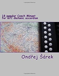 18 popular Czech Minuet for G/C diatonic accordion