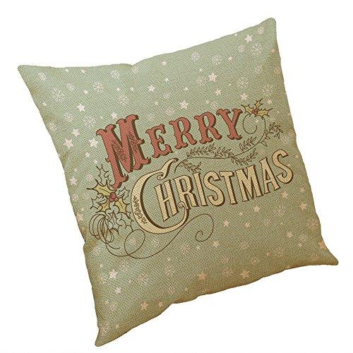 Amphia Kissenbezug Merry Christmas Decoration bettwäsche Hirsch Sofa Cover bettwäsche Weihnachten deko Kissen