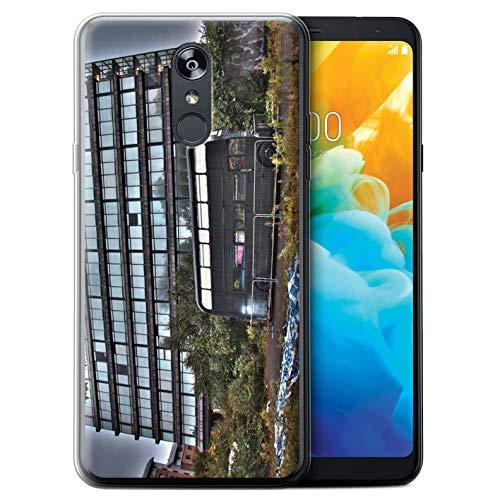 eSwish telefoonhoesje/Cover/Skin/LG-GC/London England Collection LG Stylo 4/4+/Q Stylo 4 Derelict-bus