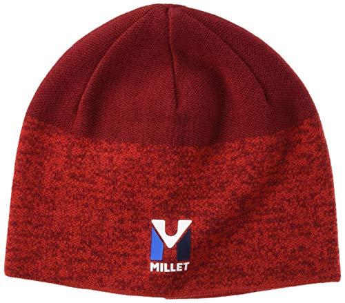 MILLET Trilogy Wool Beanie Bonnet Homme, Rouge/Deep Red, FR Unique (Taille Fabricant : U)